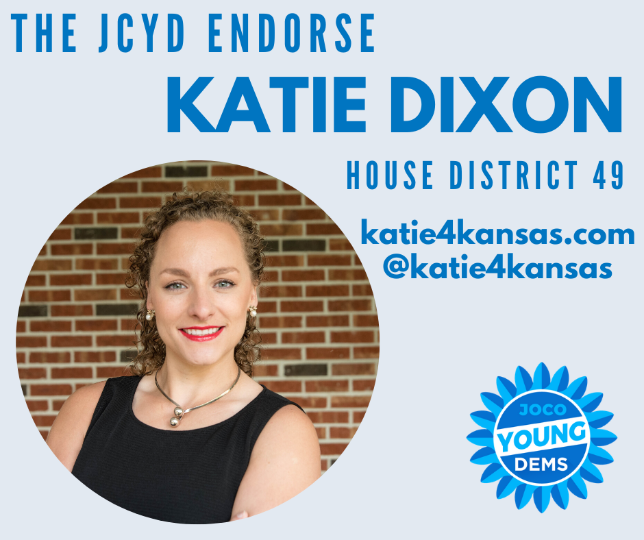 Endorsed By Johnson County Young Democrats