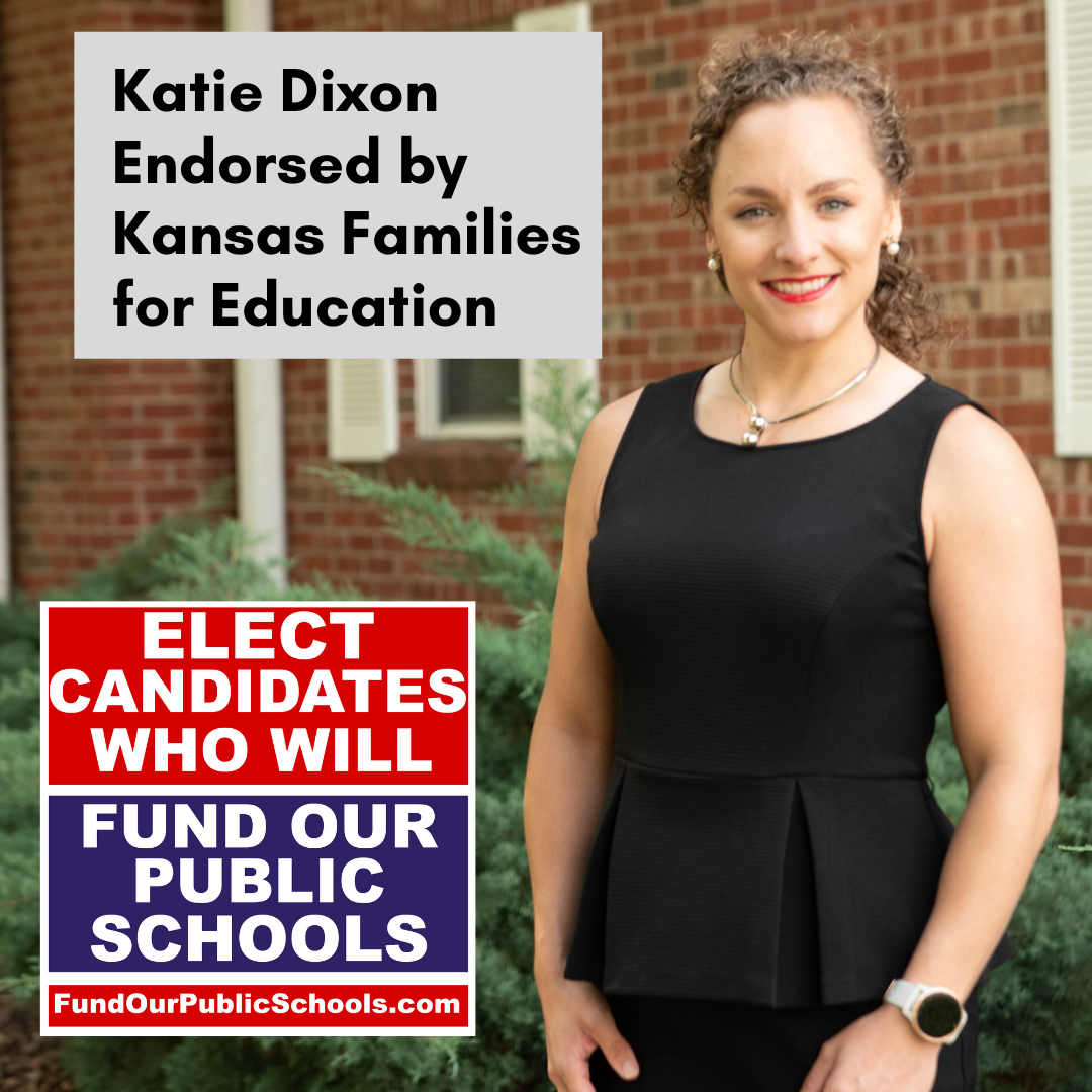 Endorsed By Kansas Families for Education