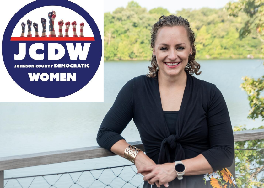 Endorsed By Johnson County Democratic Women